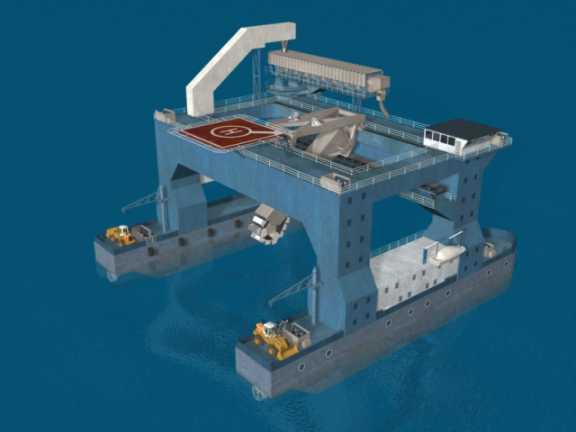 Catamaran Transfer Vessel Ctv Seabulk
